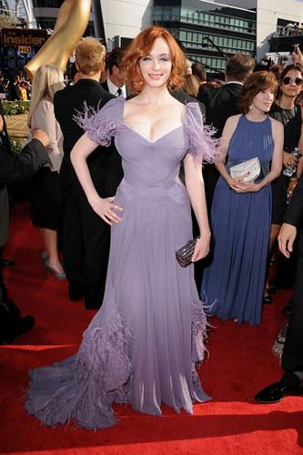 Christina Hendricks at the 62nd Primetime Emmy Awards