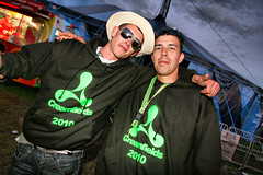 100829 Creamfields 2010 - Creamfields Hoodie Boys (dangerous_disco) Tags: uk party england holiday festival club night photography dance cheshire 10 weekend cream saturday bank august rave 2010 creamfields clubbers daresbury halton
