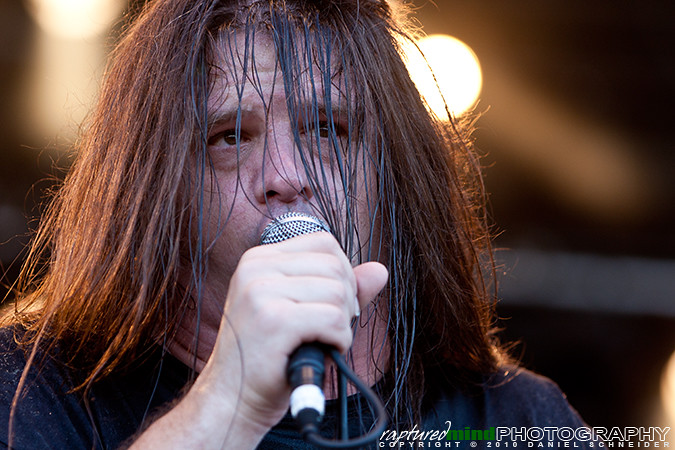 George Corpsegrinder Fisher - Cannibal Corpse - Summer Breeze Open Air 2010, Live, Festival, Show