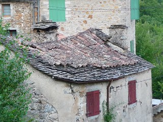 Pantile and Slate combination roof