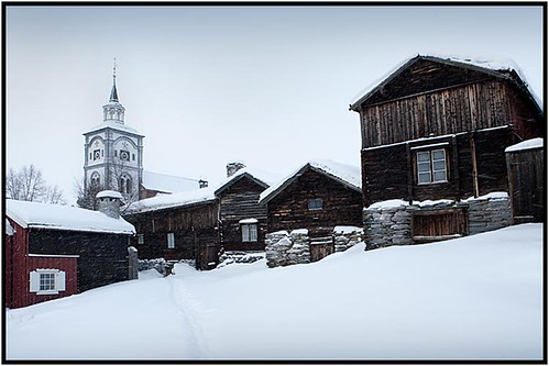 Røros, old part of the town