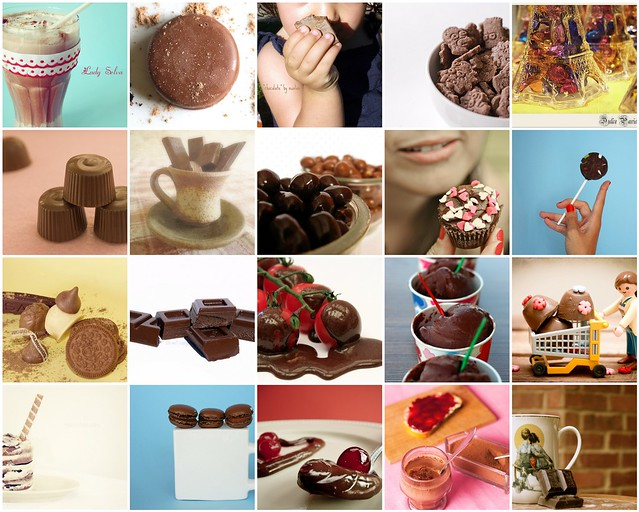 mosaico chocolate