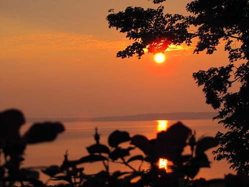 Sunrise 9/1/10, Westport, NY