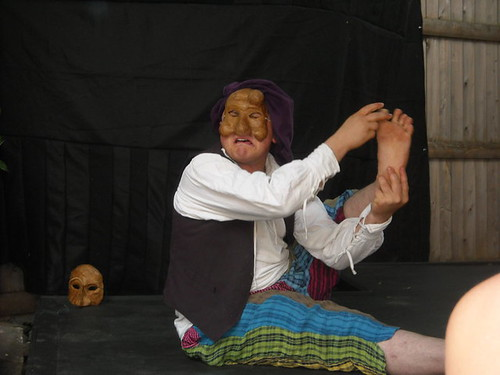 Arlecchino and Signor Foot