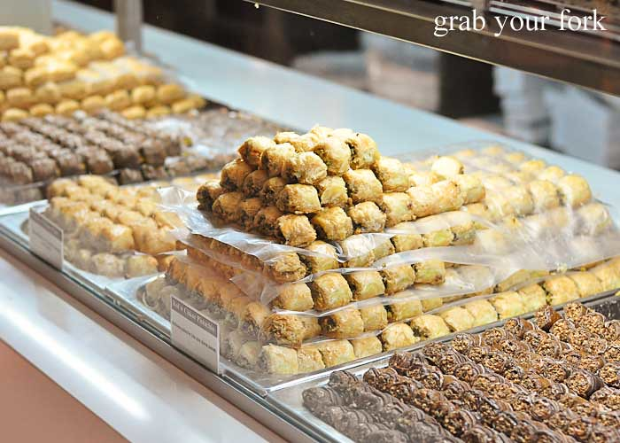 baklava display