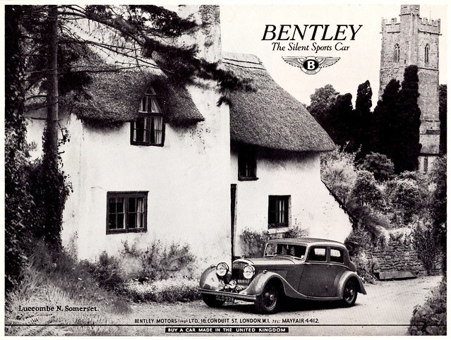 1938 Bentley 4-1/4 Litre Saloon