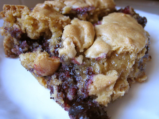 Blueberry Cake Bars