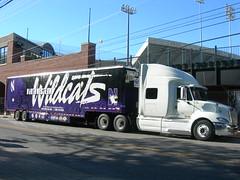 Northwestern University's Equipment Truck