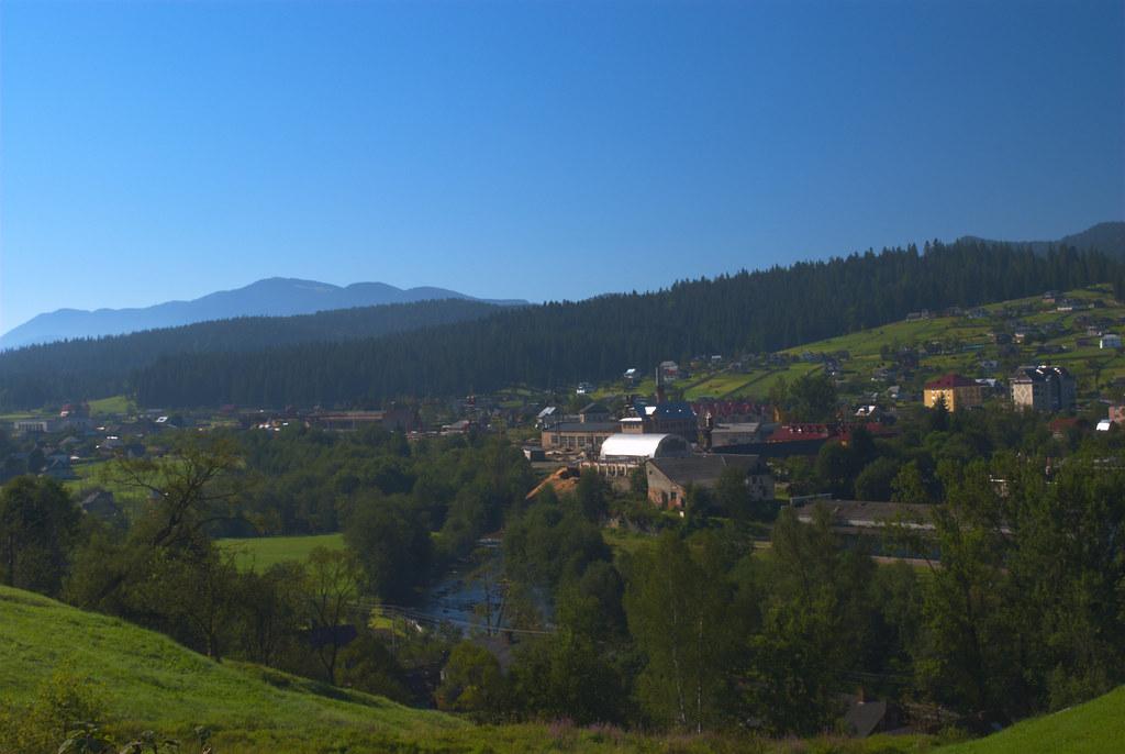 Karpaten, Worochta