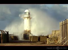 Breaker breaker (colin.falcon) Tags: lighthouse bigwave roughseas southgare colinfalcon