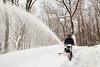 Blowing (wmliu) Tags: usa selfportrait snow us newjersey nj blowing wmliu