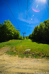 Ski Resort in Summer (Forest Wang) Tags: quebec may oversaturated 11mm sutton 2010 100iso f13 153pm sonydslra230 180secatf13 mygearandme may2710