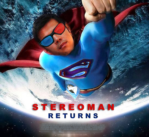 stereoman returns poster