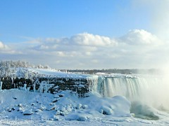 Winter Wonderland - Niagara Falls (flipkeat) Tags: winter mist snow ontario canada ice nature water beautiful misty last digital wonderful landscape outdoors niagarafalls landscapes waterfall pretty paradise photos weekend sony awesome famous landmark canadian niagara falls covered icy wonderland iconic breathtaking waterscape wintery   niagarafallsinwinter  dschx1 bhphotocontest