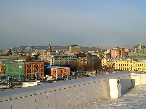 Utsikt från operahusets tak