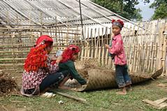 Hmong people in Sapa, Vietnam (sensaos) Tags: travel portrait people 2004 asia traditional north tribal vietnam viet tribe sapa hmong nam indigenous azie azië sensaos
