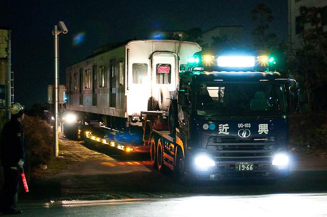 東京メトロ千代田線6000系 6126F 陸送 - 2010年1月20日