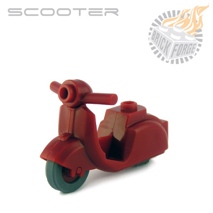 Scooter - Dark Red