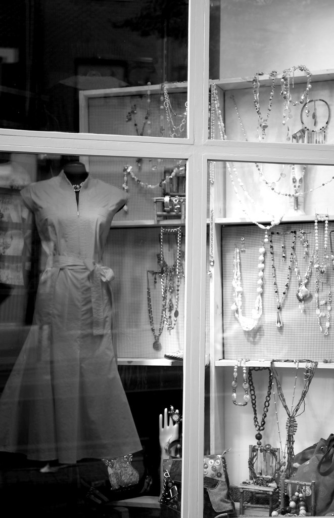 Red Dress at 70 Princess Street, Kingston, Ontario Canada