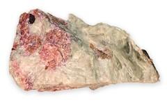 Pegmatite with albite   albaite cassiterite manganapatite   igneous rock   Varutrask   Boliden   Sweden   2444.jpg (ShutterStone.com) Tags: sweden igneousrock boliden 2444jpg pegmatitewithalbite albaitecassiteritemanganapatite varutrask