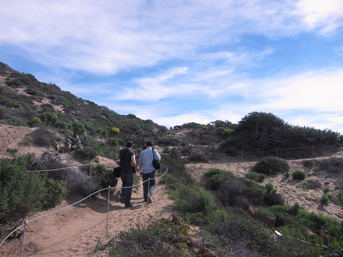Hiking at Point Dume