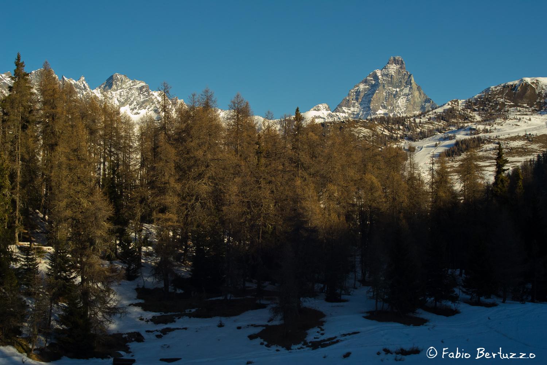 Dent d'Herens e Monte Cervino dal Col Pilaz