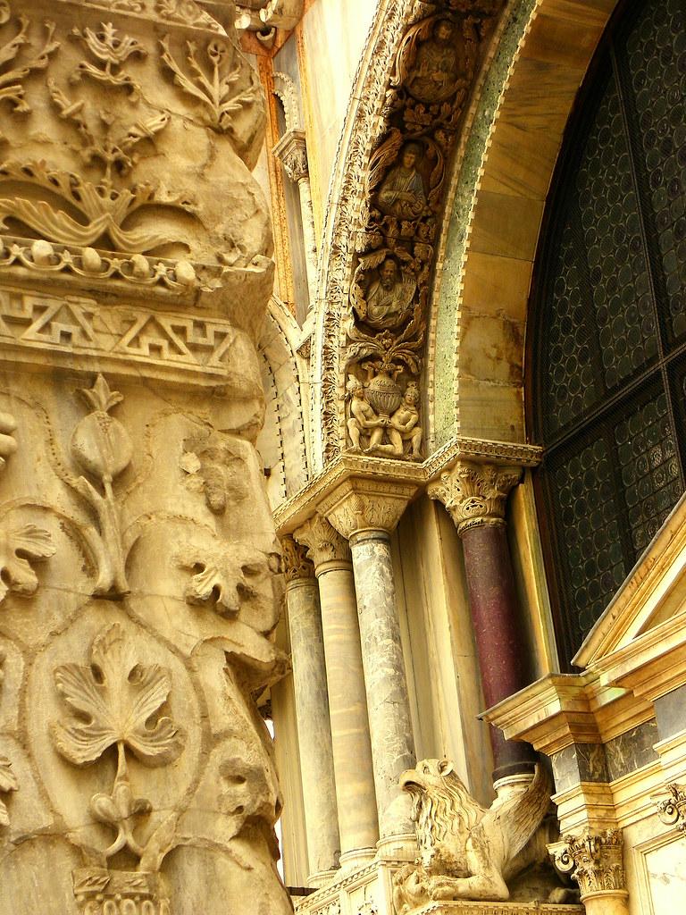 Venice, St. Mark's Basilica - Detail