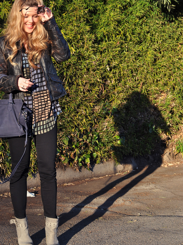 vintage leather jacket, los angeles blogs, ankle boots, fashion, j brand jeans, cropped jeans, dvf bag, long hair, street style, DSC_0130