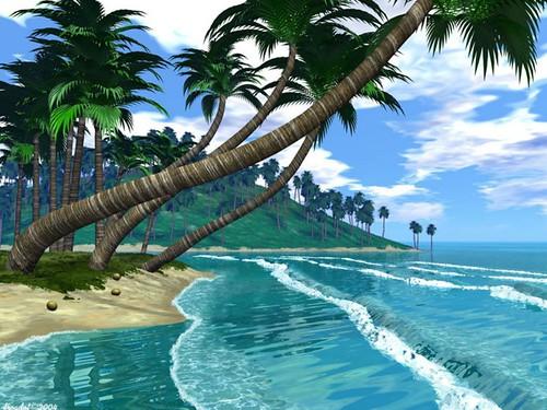 beach wallpaper desktop widescreen. Beautiful Beach wallpapers