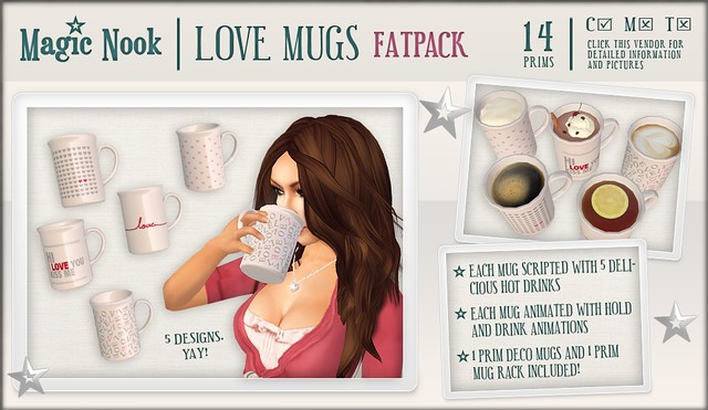 [MAGIC NOOK] Love Mugs