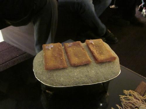 El Celler de Can Roca - Girona - February 2011 - Chips and Chicken Cracker