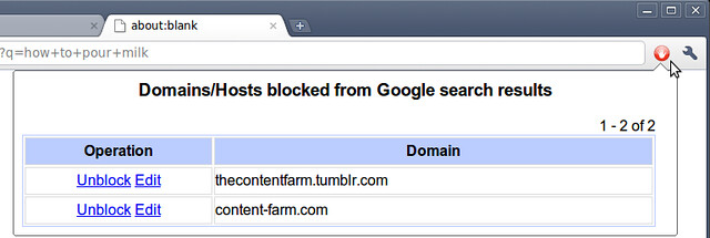 edit blocked sites