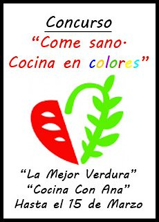 Concurso 'Come sano, cocina en colores'