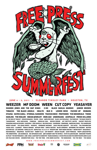 summerfest 2011 lineup. Free Press Summer Fest 2011