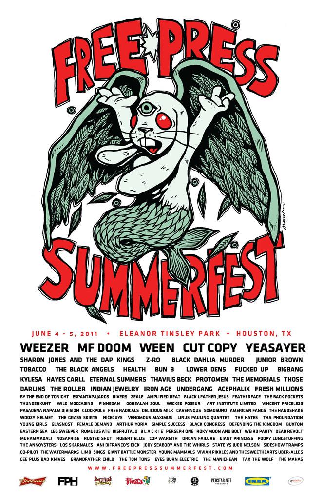 Free Press Summer Fest 2011