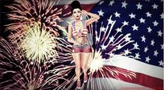 #214 - Independence Day (Lucianna Emerald) Tags: sakura crystalheart gift chicchica prtty birth dpkoffinnails nyne roc secretposes supernatural cosmopolitan blossom vssr lelutka cnz