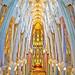 The Papal Area Of La Sagrada Familia