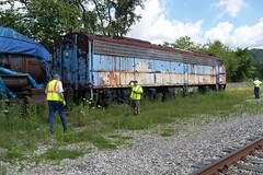 100_3313 (primemover88) Tags: speeder railcar excursion narcoa elkins wv west virginia durbin greenbrier valley railroad