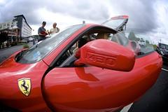 Ferrari F430 (Atodog) Tags: ferrarif430 f430 ferrari millers ale house casshow millersalehouse fisheye wideangle