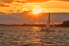 1lip (maarcinwu) Tags: sunset sail sailing summer canon6d 135mmf2l lake