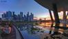 CBD Sunset (2017) (Ken Goh thanks for 2 Million views) Tags: centralbusinessdistrict cbd sunset landscape cityscape water reflection blue sky sun pentax k1 sigma 1020
