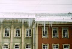 (JulianaKruz) Tags: winter icicles architecture film filmphoto fed2 fed analog analogphoto analoque agfa analogue agfavista art 35mm пленка фотопленка фэд фэд2 зима сосули