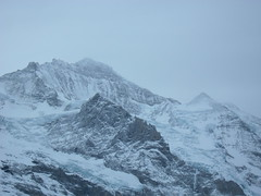 ...Grey... (project:2501) Tags: wengen jungfrauregion suisse switzerland snow ski travel theviewfromhere clouds solidcloud cloudysky sky greysky greylight grey inthemountains mountains mountain rock jungfrau4158m silberhorn