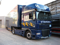 Stardes DAF XF Paul McCartney 'Up And Coming' Tour 2010 Tour Truck (5asideHero) Tags: truck paul tour space cab super 105 mccartney 2010 daf xf stardes