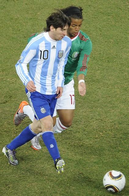Mundial Giovani dos Santos Lionel Messi México