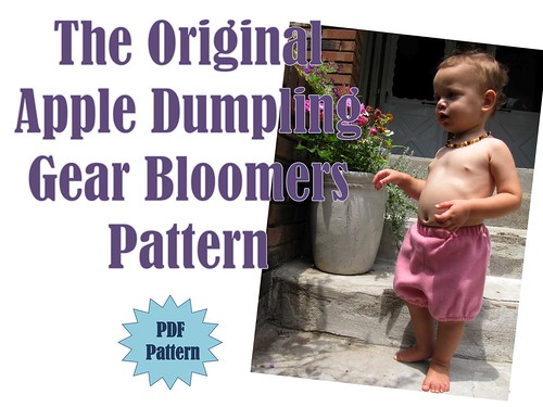 The Original Apple Dumpling Gear Bloomers Pattern