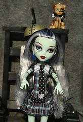 frankie034 (Lisa/Alex's doll) Tags: monster high dolls frankie frankenstein stein mattel watzit