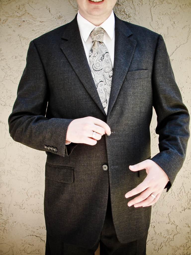178/365: Thrifty Suit