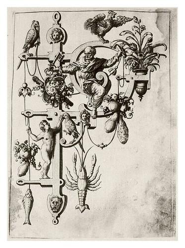 015-Letra P- Pedro-Neiw Kunstliches Alphabet 1595- Johann Theodor de Bry