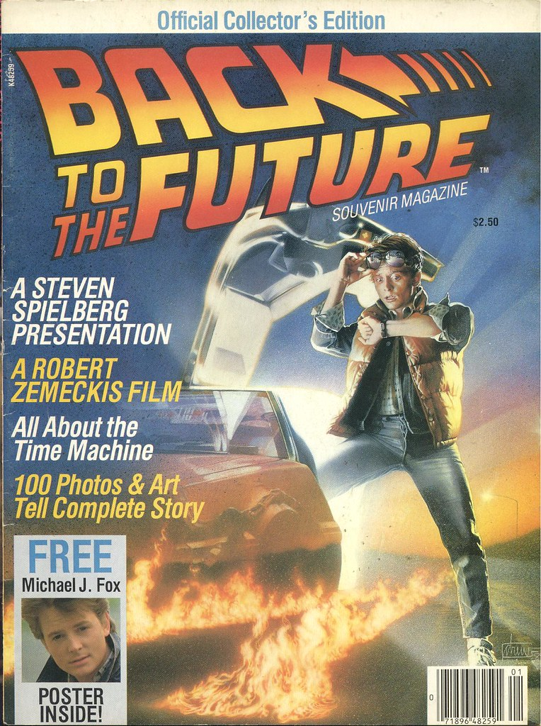 Back to the Future magazine front